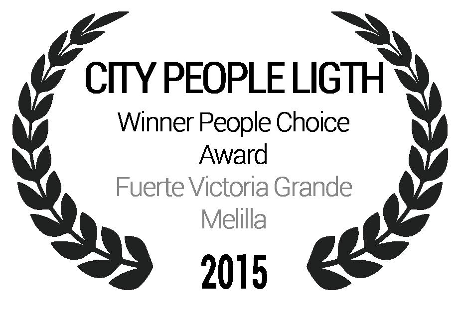 Winner People Choice Award Fuerte Victoria Grande Melilla