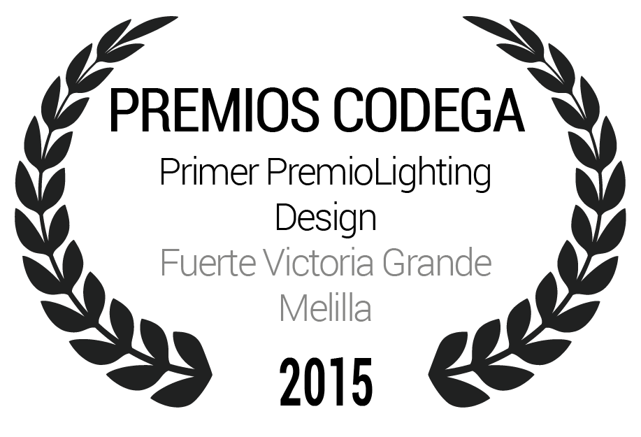 Primer PremioLighting Design Fuerte Victoria Grande Melilla