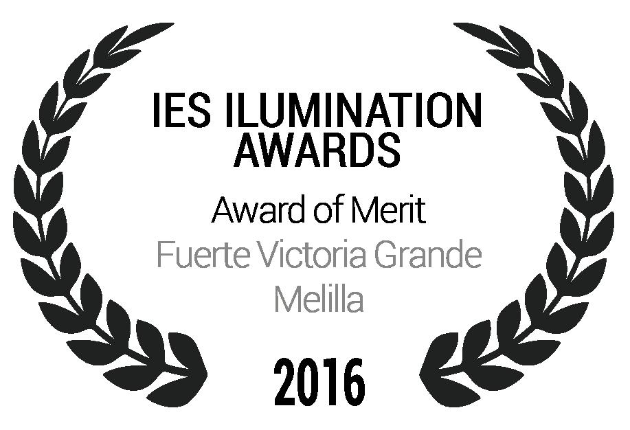Award of Merit Fuerte Victoria Grande Melilla