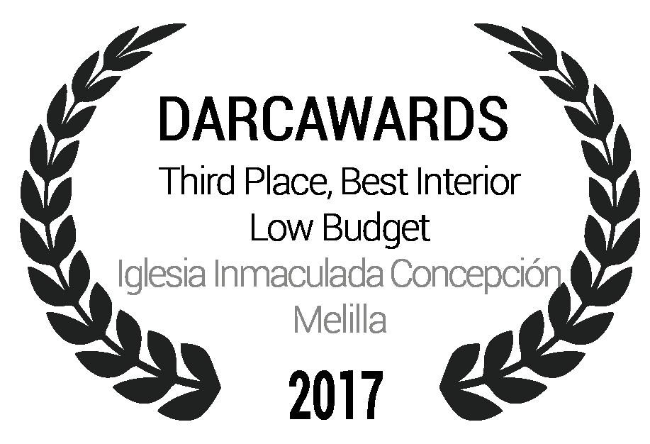 Third Place, Best Interior Low Budget Iglesia Inmaculada Concepción Melilla